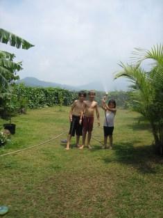 Making Rain During the Dry Season