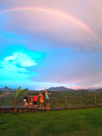 Kids and the rainbow