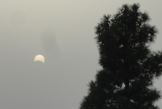 Eclipse partielle de soleil du 21 août 2017
