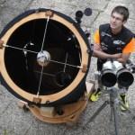 Télescope Dobson T600 et jumelles Miyauchi 145x141