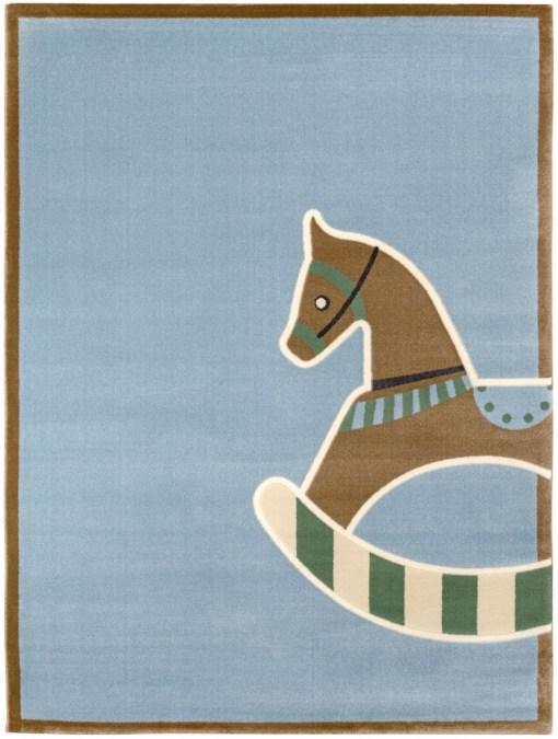 Saint Clair toy blue χαλί για παιδικό δωμάτιο