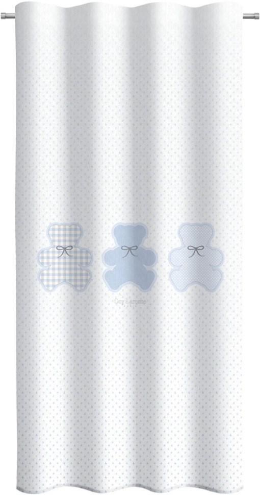 κουρτινα-παιδικη-145×270-guy-laroche-friends-light-blue