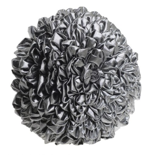 μαξιλαρι-διακοσμητικο-στρογγυλο-40×40-inart-Δ40-silver