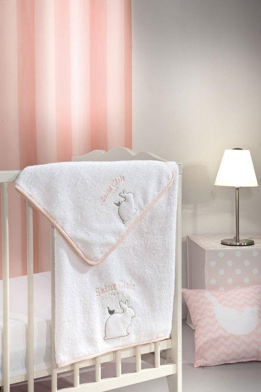 σετ-πετσετες-bebe-2-τεμαχίων-saint-clair-lapin-pink