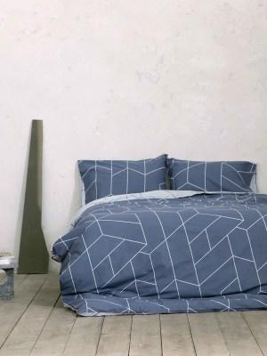 Σετ Σεντόνια Γίγας 270x280 NIMA Parity Blue