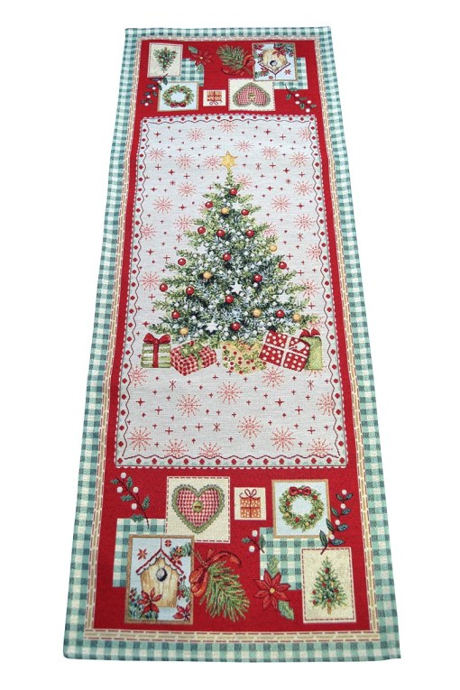 χριστουγεννιάτικη-τραβερσα-στοφα-ισπανιας-lurex-illusion-2