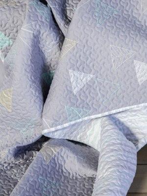 Κουβερλί Μονό 160x240 NIMA Triangles