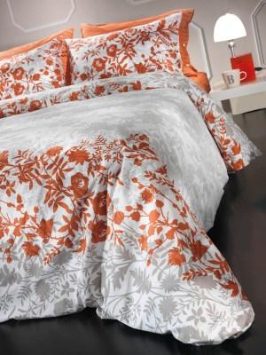 Σεντόνια Μονά Σετ 160x260 Guy Laroche Tiffany Mango