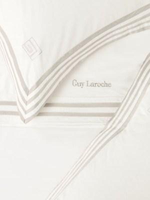 Σεντόνια Υπέρδιπλα Σετ Satin 240x260 GUY LAROCHE Lyric Sand
