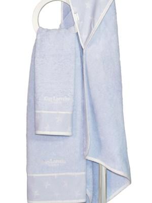 Πετσέτες Βρεφικές Σετ 2 τεμαχίων Guy Laroche Heaven Light Blue