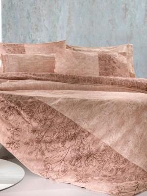Σεντόνια Μονά Σετ 160x260 Guy Laroche Dion Old Pink
