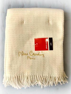Κουβέρτα Ριχτάρι Καναπέ 140x180 Pierre Cardin Vison White