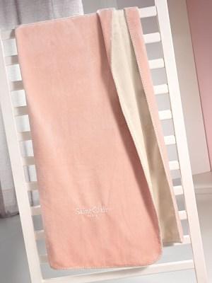 Κουβέρτα Μονή Βελούδινη 160x220 SAINT CLAIR Tresor Pinky