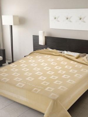 Κουβέρτα Ισπανίας Βελούδινη Υπέρδιπλη 220x240 Pierre Cardin Nancy 450 Off-White 15
