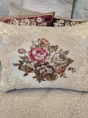 Μαξιλάρι Φιγούρας Στόφινο 35x50 Vintage Floral 2009