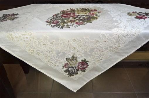 τραπεζοκαρέ-στοφινο-jacquard-140×140-vintage-7008-cream