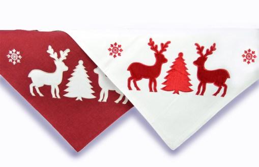 τραπεζοκαρε-χριστουγεννιάτικο-100χ100-ελαφια-white