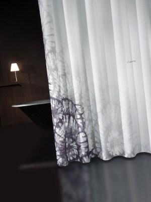 Κουρτίνα Μπάνιου 180x190 GUY LAROCHE Theatro Grey Black