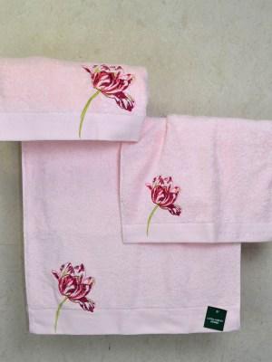 Πετσέτες Σετ τριών τεμαχίων LAURA ASHLEY Gosford Blossom Pink