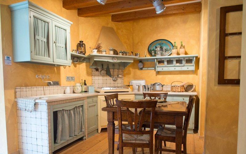 Cucina Country Doria  Offerta Cucine Moderne a prezzo Outlet a Leccio  Arredamento Casa e