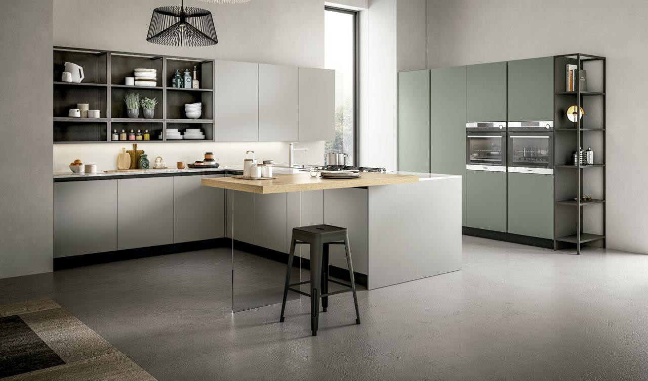 Modern Kitchen Arredo3 Cloe Model 3