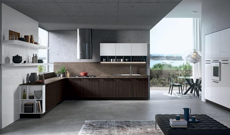 Modern Kitchen Arredo3 Round Model 01 - 01