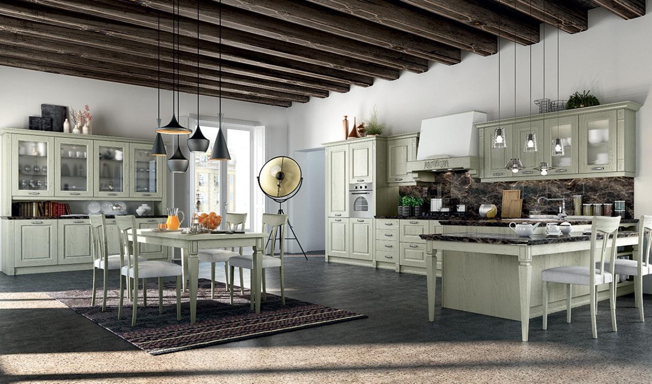 Cocina Clásica Arredo3 Verona Modelo 03