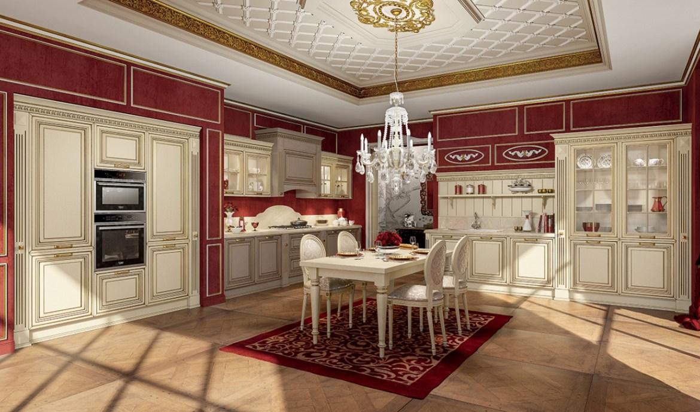 Classic Kitchen Arredo3 Viktoria Model 02 - 01