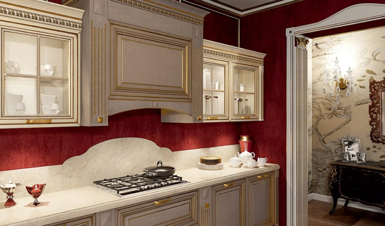 Classic Kitchen Arredo3 Viktoria Model 02 - 02