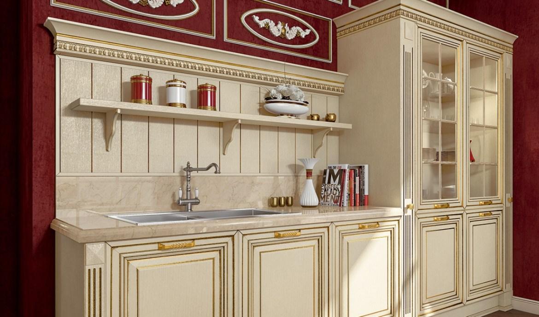 Classic Kitchen Arredo3 Viktoria Model 02 - 04