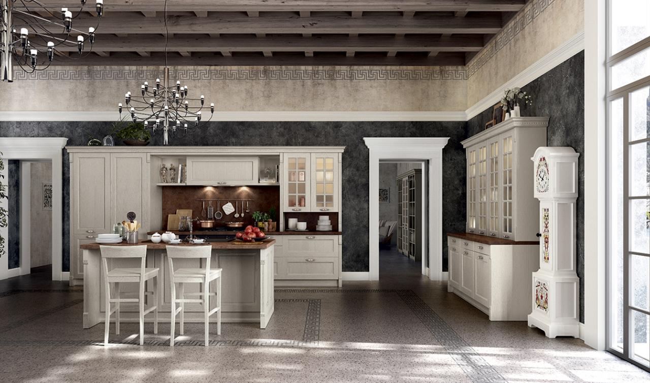Classic Kitchen Arredo3 Virginia Model 01