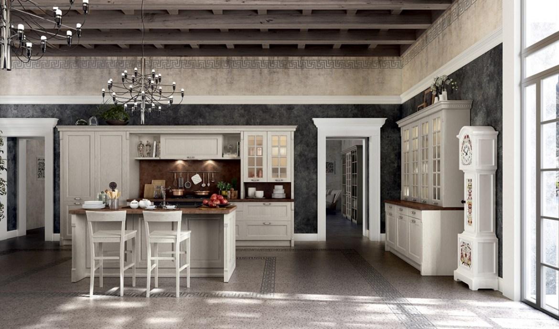 Classic Kitchen Arredo3 Virginia Model 01 - 01