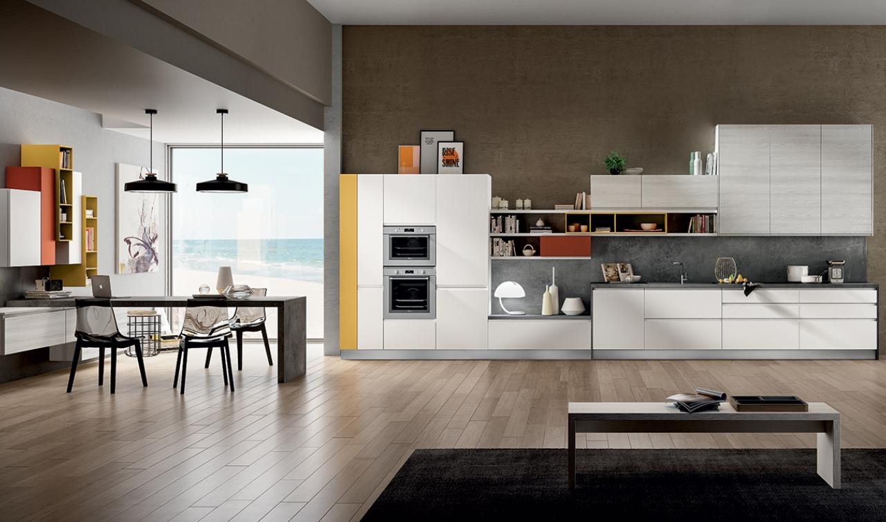 Modern Kitchen Arredo3 Wega Model 03