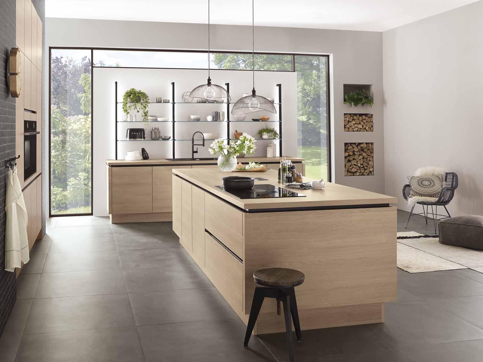 Modern Kitchen Küchentime Riva 887