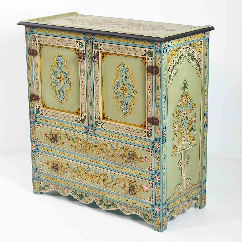Orientalische Mobel Orientalischer Messing Tisch Zahir