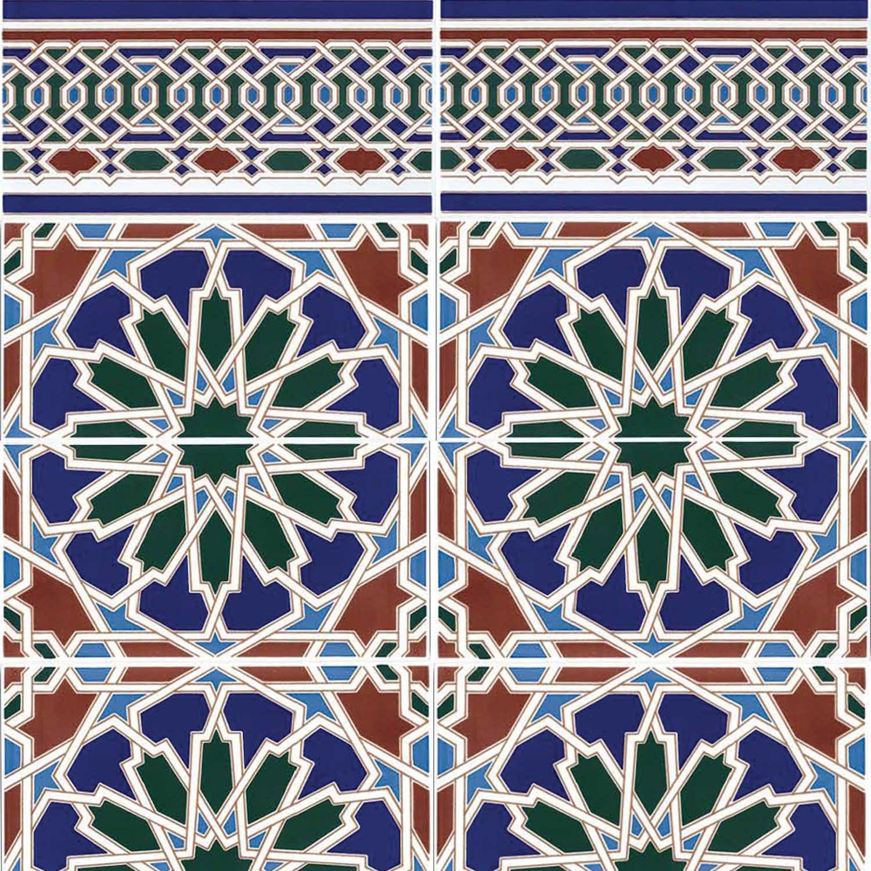 Marokkanische Fliesen Zakia  Bei Ihrem Orient Shop Casamoro