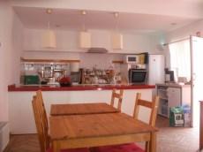 Sala onde são servidos os pequenos almoços