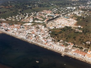Cabanas as seen from the air (old photo)