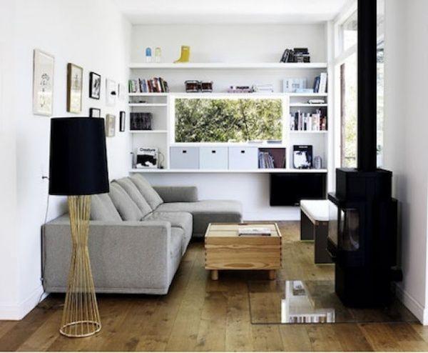 Ideas para decorar un living pequeo  Casa Web