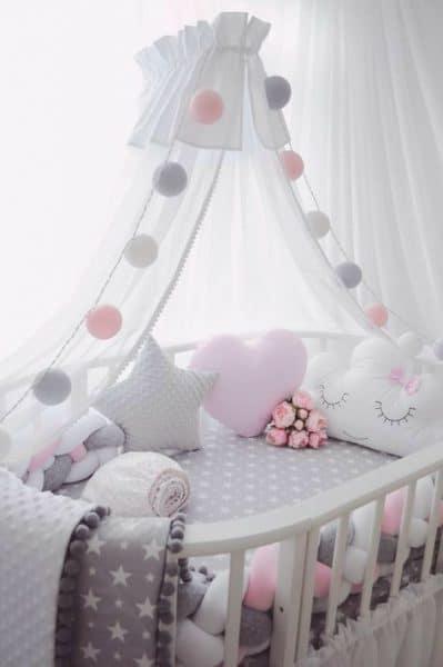 Baby Girl Floral Wallpaper Dormitorios Infantiles Para Bebes Casa Web