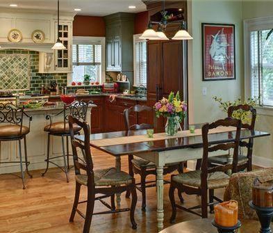 Cocinas con comedor diario  Casa Web