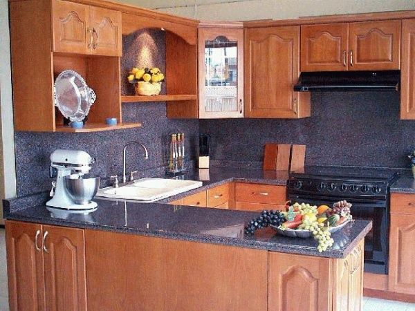 Mueble Cocina Americana   Paredes Paves Recibidor   Mitula Pisos
