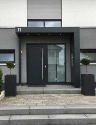Puertas de entrada principal Tipos y estilos Casa Web