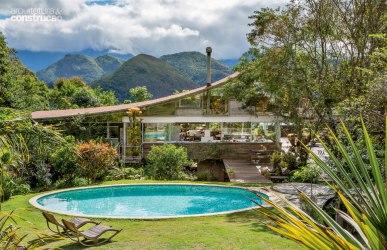 50 fachadas de casas de sonho publicadas na Arquitetura & Construção CASA COM BR