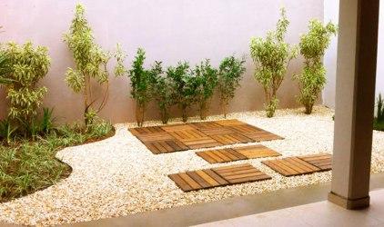 16 jardins sem grama projetados por profissionais do CasaPRO CASA COM BR
