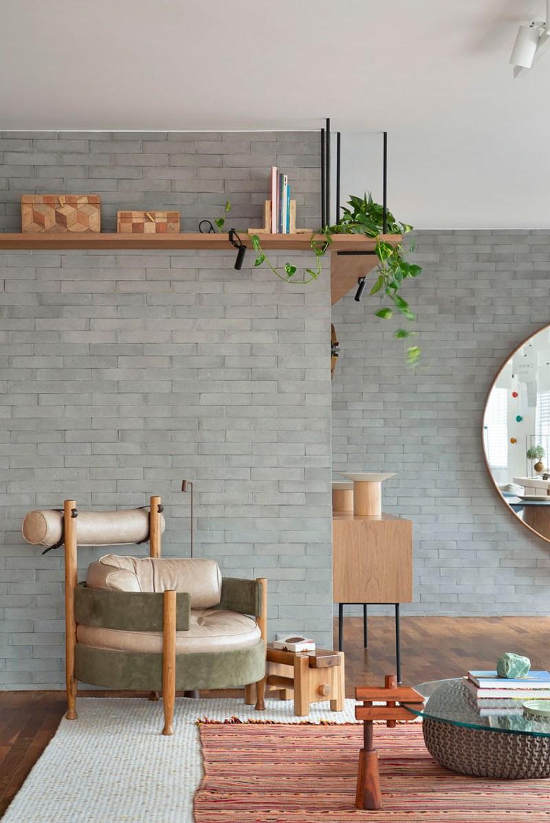 Apartamento nos Jardins assinado pela designer de interiores CACAU RIBEIRO foto 3 Vision Art NEWS