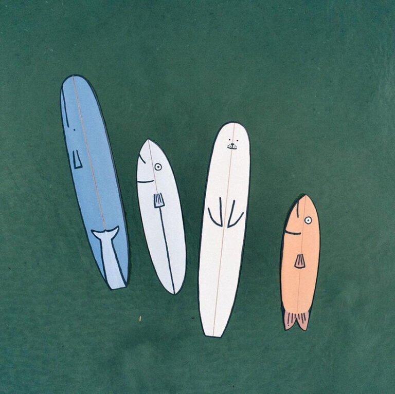 Estas pranchas de surf são fofinhas demais designboom 03 Vision Art NEWS
