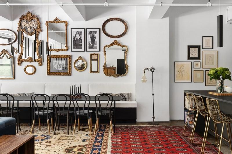 8 toques industriais e minimalistas marcam este loft de 140 m 2 em nova Vision Art NEWS