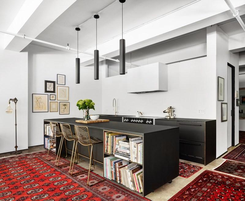 9 toques industriais e minimalistas marcam este loft de 140 m 2 em nova Vision Art NEWS