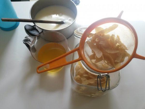 Crema de limoncello receta